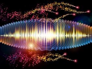 Фото: звук, звуковая волна, ноты