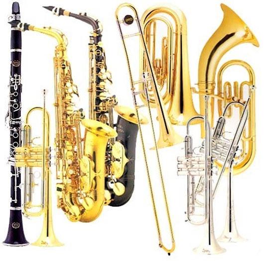 Фото: Духовые инструменты